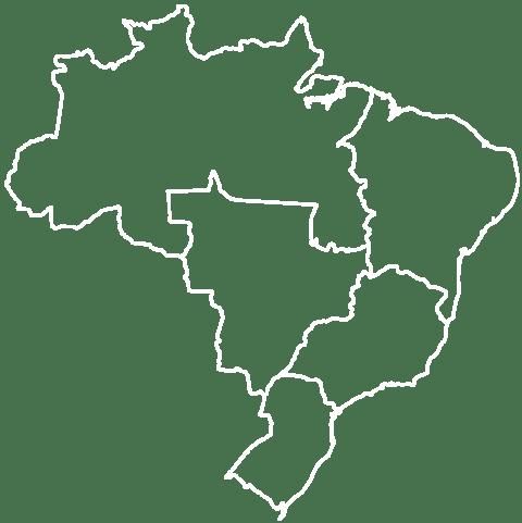 Mapa - Regiões do Brasil